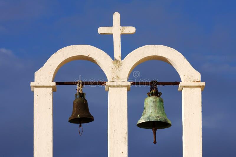 De Klokken van de kerk royalty-vrije stock afbeelding