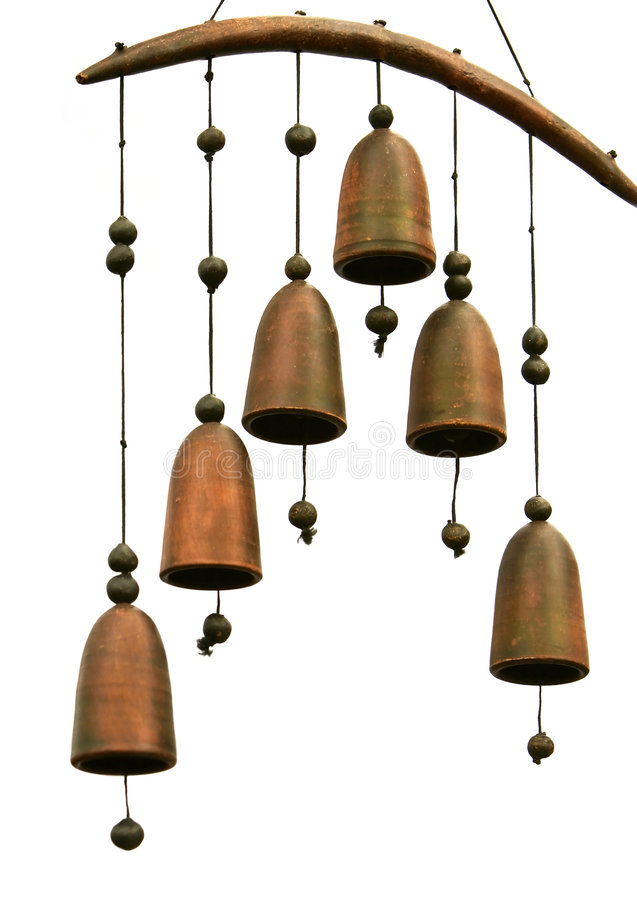 De klokken van het metaal stock afbeelding