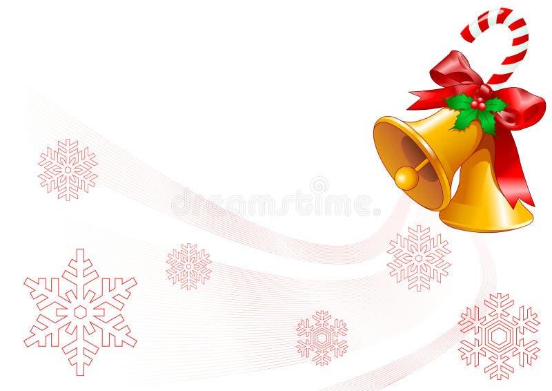 De klokkenOntwerp van Kerstmis royalty-vrije illustratie
