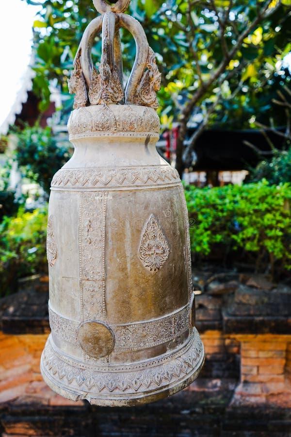 De klokketoren is de één bouw in de tempel royalty-vrije stock foto