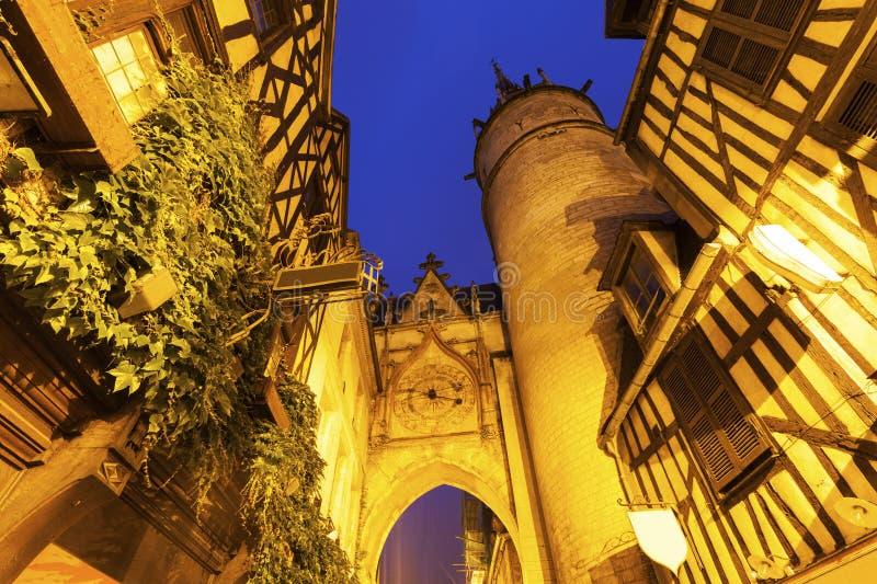 De Klokketoren van Auxerre royalty-vrije stock foto