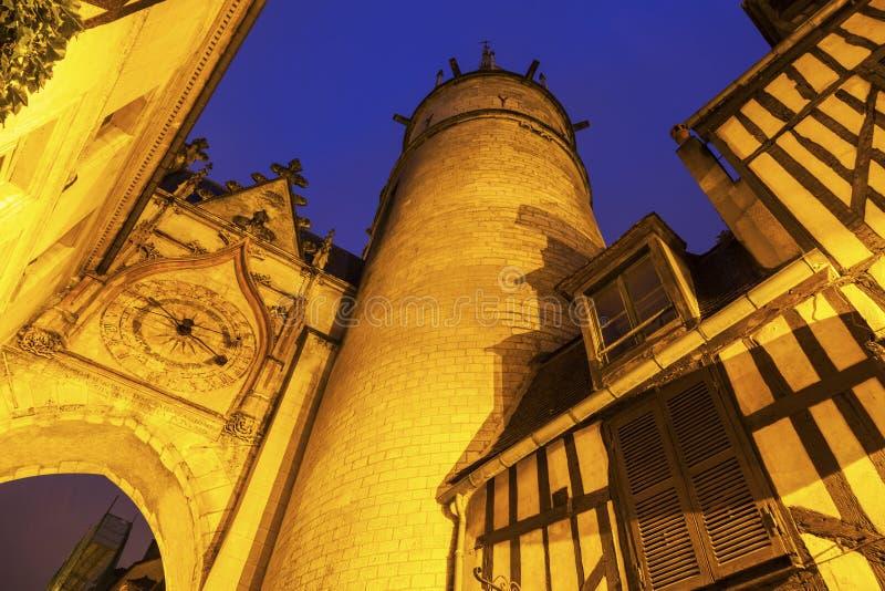 De Klokketoren van Auxerre royalty-vrije stock foto's