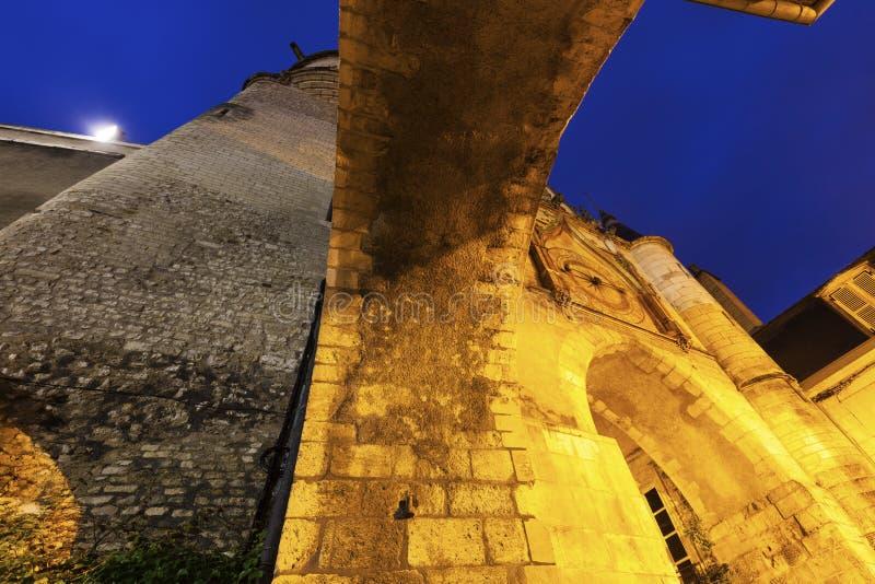 De Klokketoren van Auxerre royalty-vrije stock afbeelding