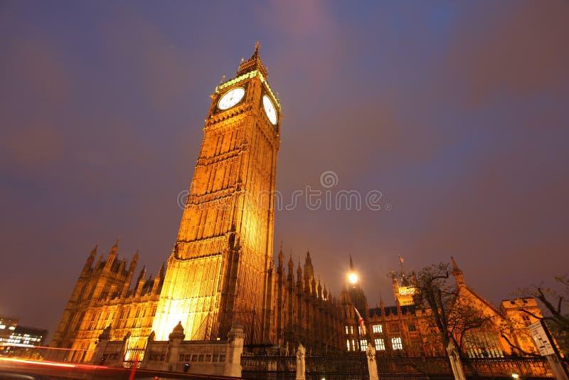 De klokketoren van de Big Ben royalty-vrije stock afbeelding