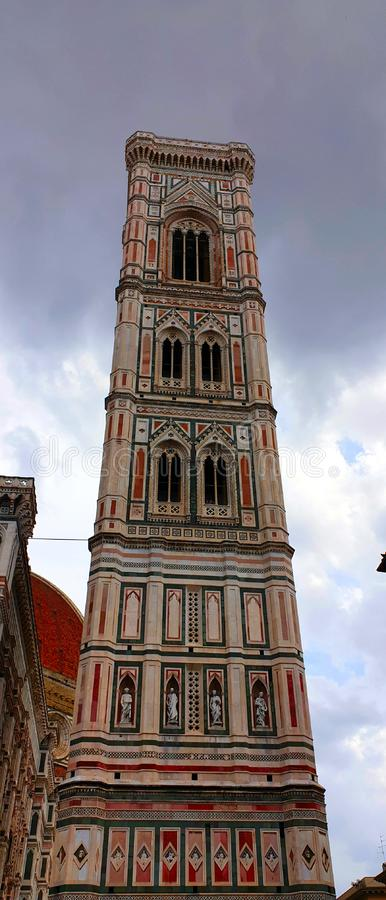 De Klokketoren van Florence Giotto stock afbeelding
