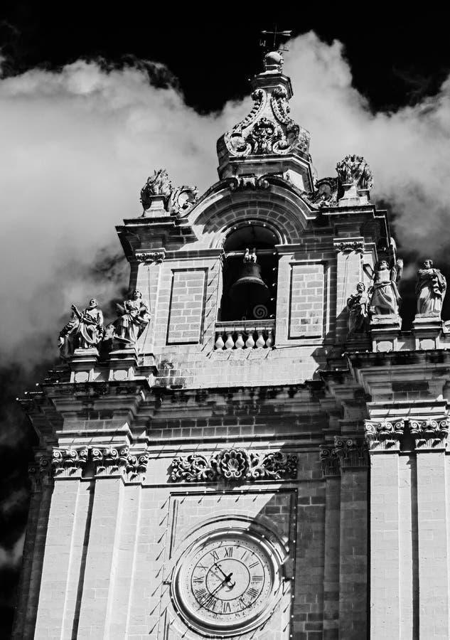 De Klokketoren van de Kerk van St.Helena ` s royalty-vrije stock foto's
