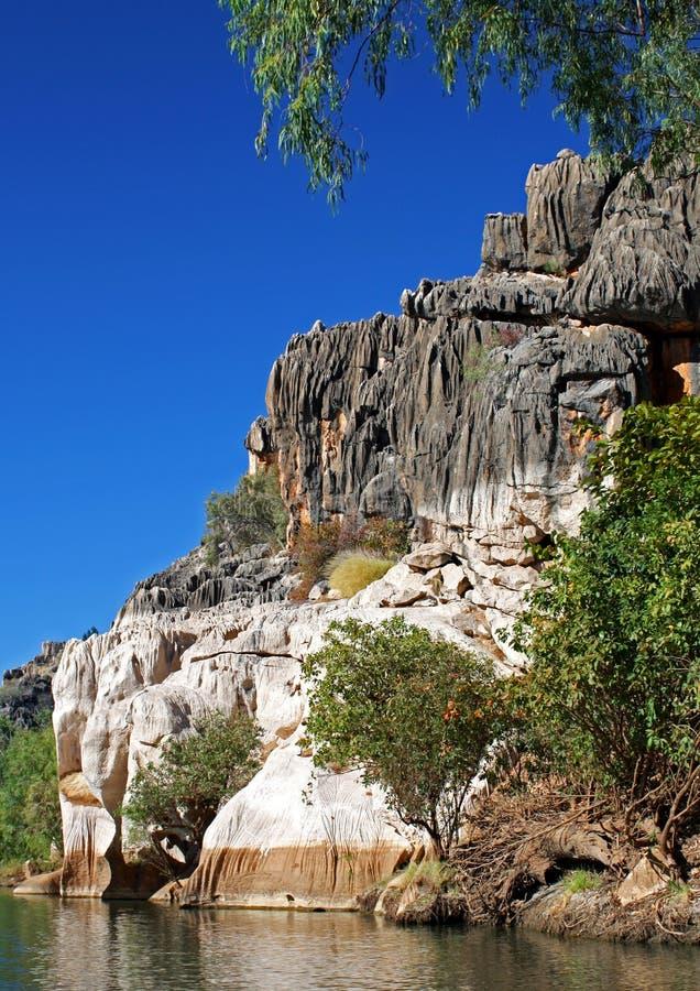 De Kloof van Geikie, Kimberley royalty-vrije stock foto