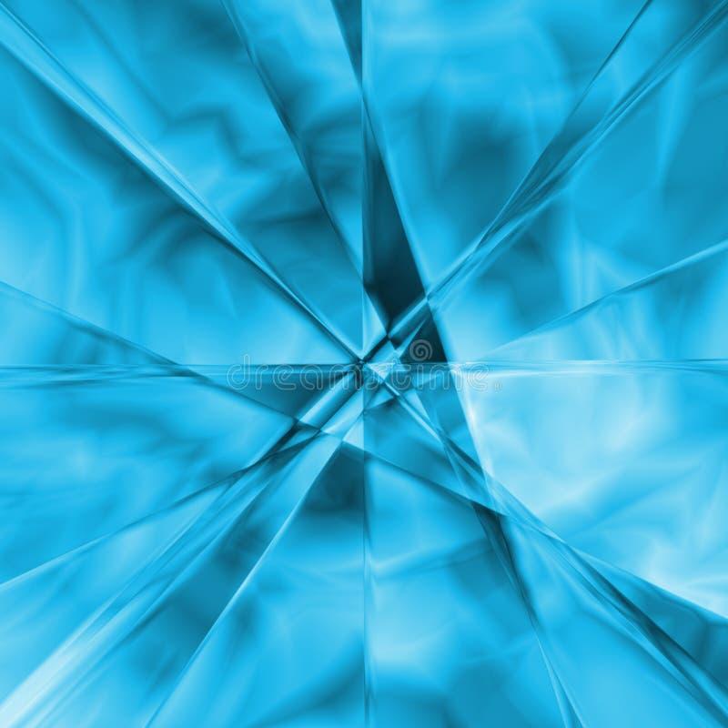 De kloof van het ijs royalty-vrije illustratie