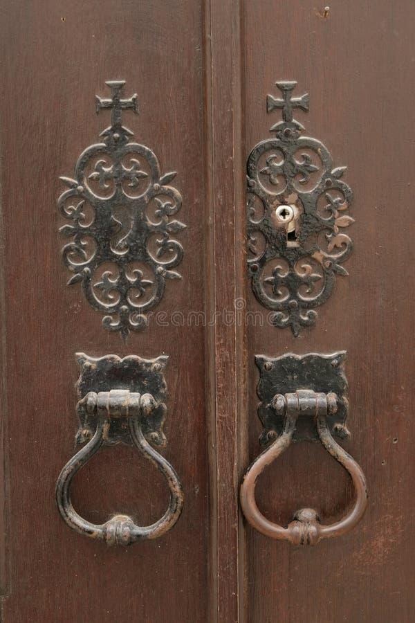 De kloppers van de deur stock afbeelding