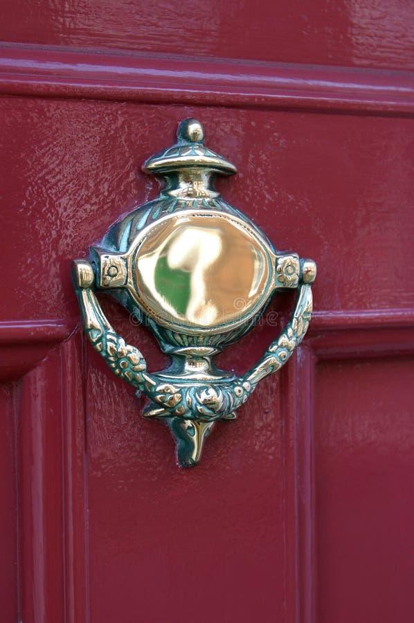 De Kloppers van de deur stock fotografie