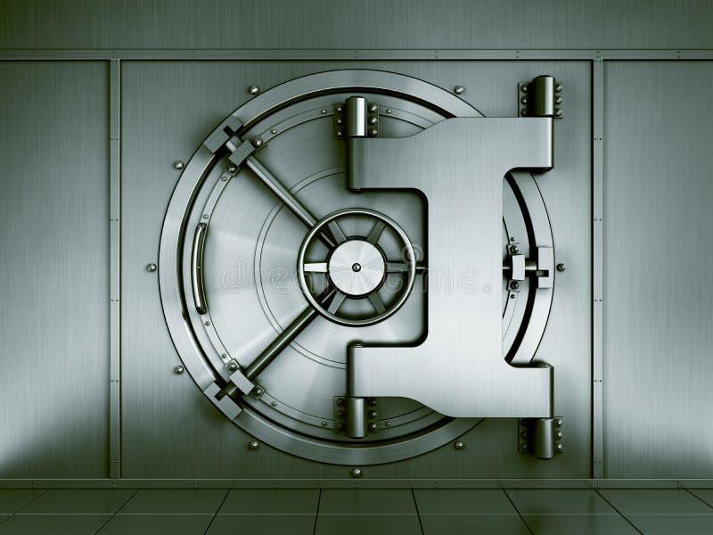 De kluis van de bank