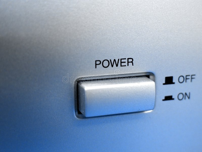 De knoop van de macht stock foto