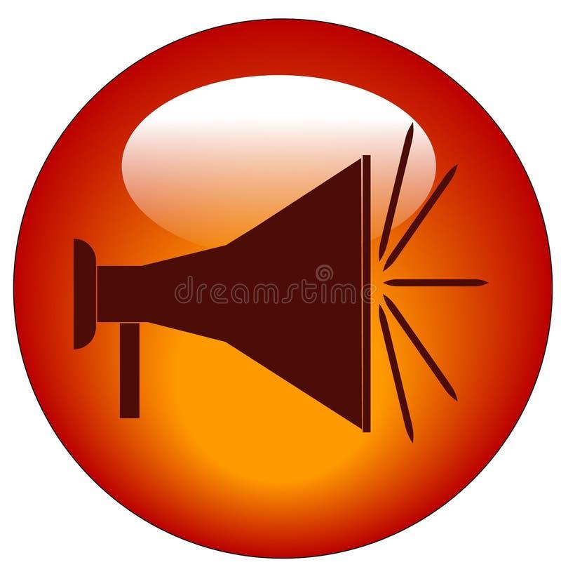 De knoop van de megafoon vector illustratie