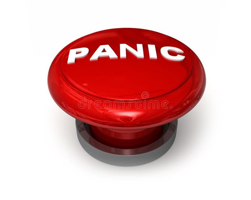 De Knoop van de paniek stock illustratie