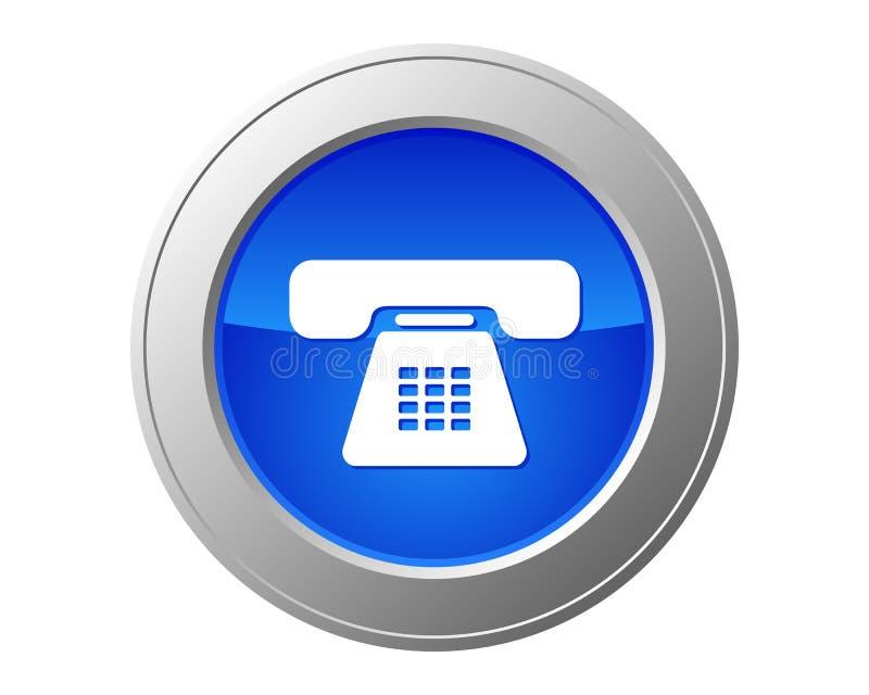 De knoop van de telefoon stock illustratie