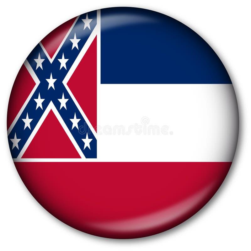 De Knoop van de Vlag van de Staat van de Mississippi royalty-vrije illustratie