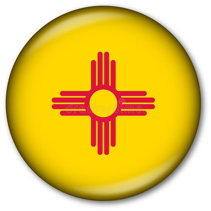 De Knoop van de Vlag van de Staat van New Mexico stock illustratie