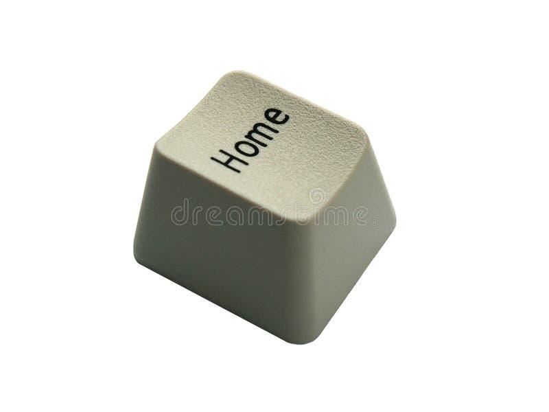 De knoop van het huis stock foto