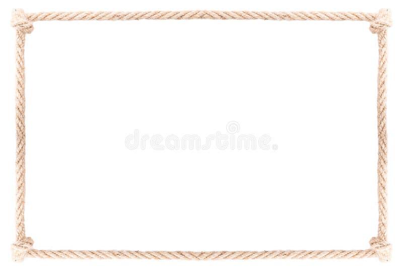 De knoop van het kabelkader stock fotografie