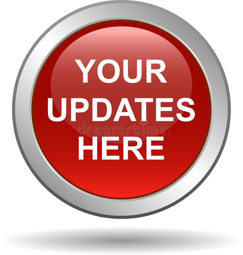 De knoop van het update nu Web vector illustratie