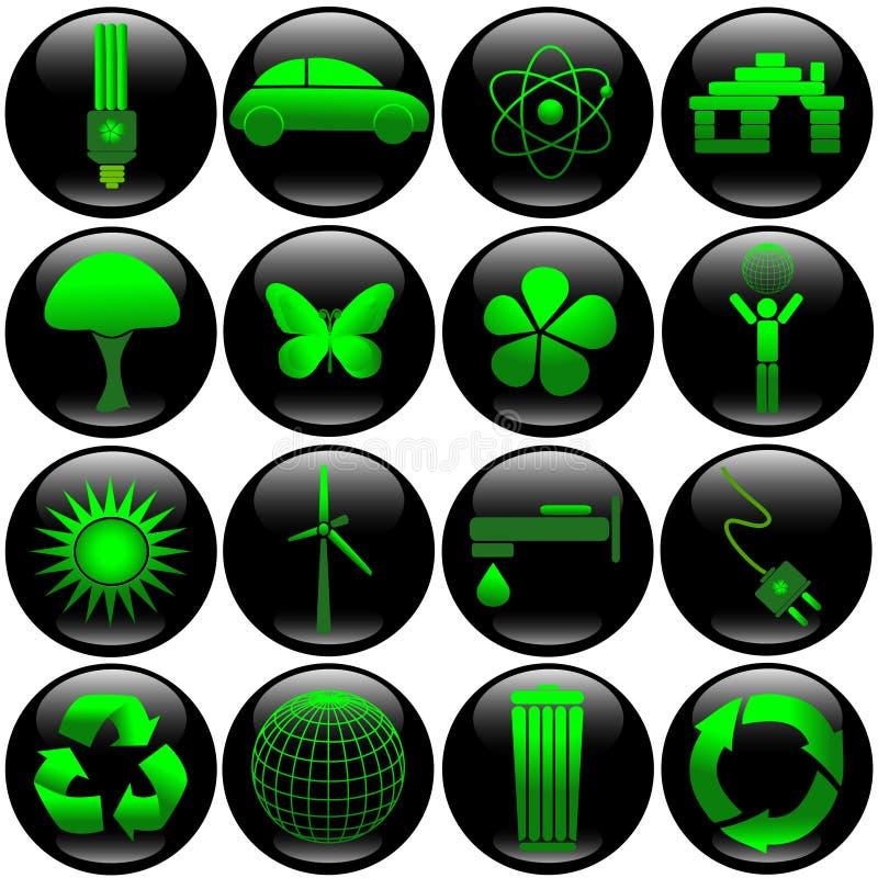 De knoopreeks van Eco royalty-vrije illustratie