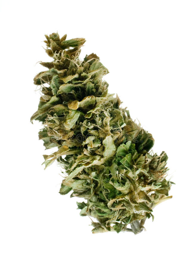 De knop van de marihuana royalty-vrije stock foto's