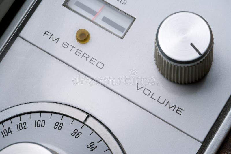 De knop van het volume royalty-vrije stock fotografie