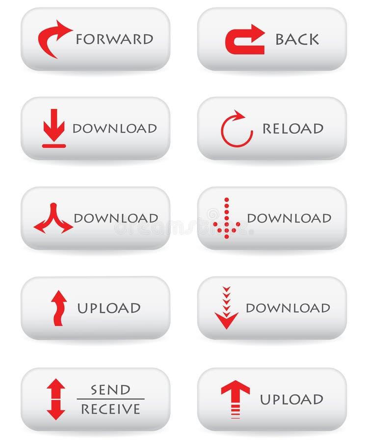 De knopen van de download royalty-vrije illustratie