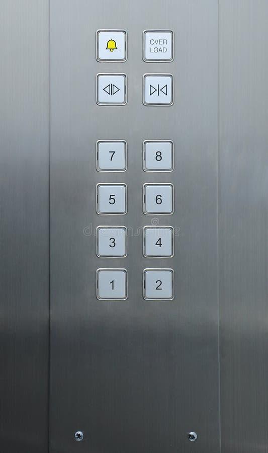 De knopen van de lift royalty-vrije stock fotografie