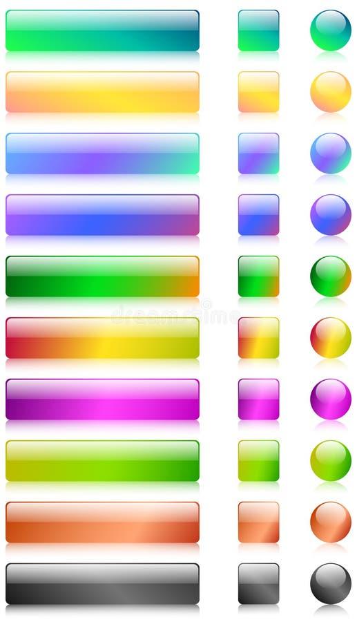 De knopen van het Web vector illustratie
