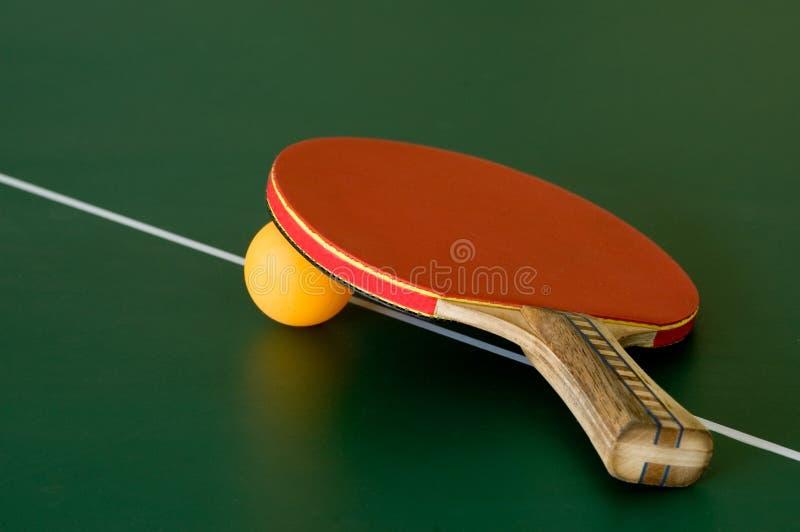 De knuppel van het pingpong stock afbeelding