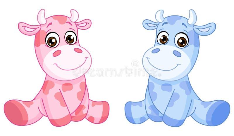 De koeien van de baby