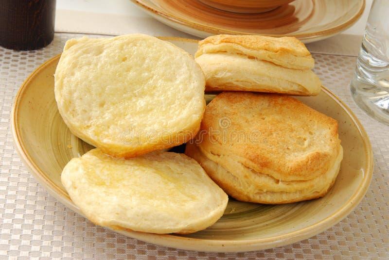 De koekjes van Buttereed stock afbeelding