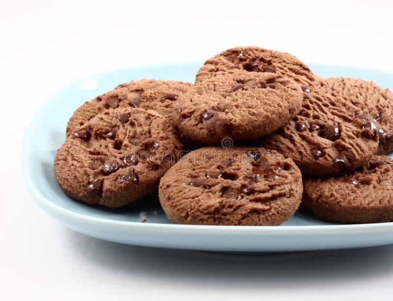 De koekjes van de chocolade. royalty-vrije stock afbeelding