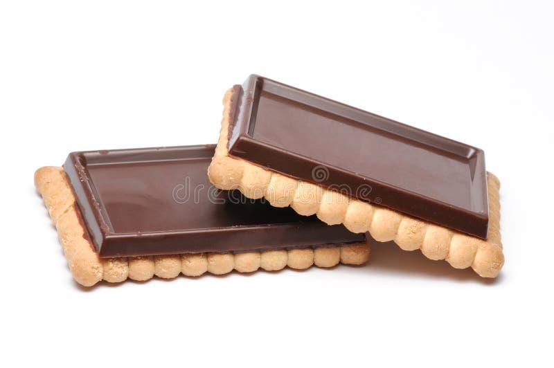 De Koekjes van de chocolade royalty-vrije stock afbeelding