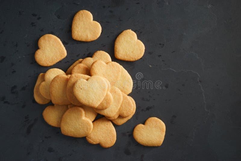 De koekjes van de hartvorm royalty-vrije stock foto's