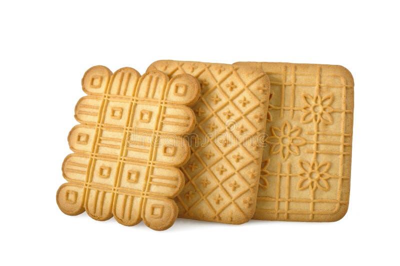 De koekjes van de thee royalty-vrije stock fotografie
