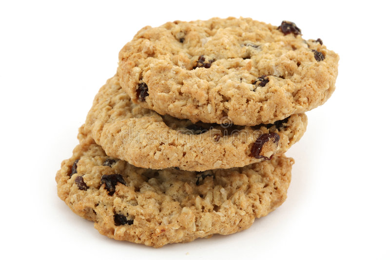 De koekjes van het voedsel royalty-vrije stock foto