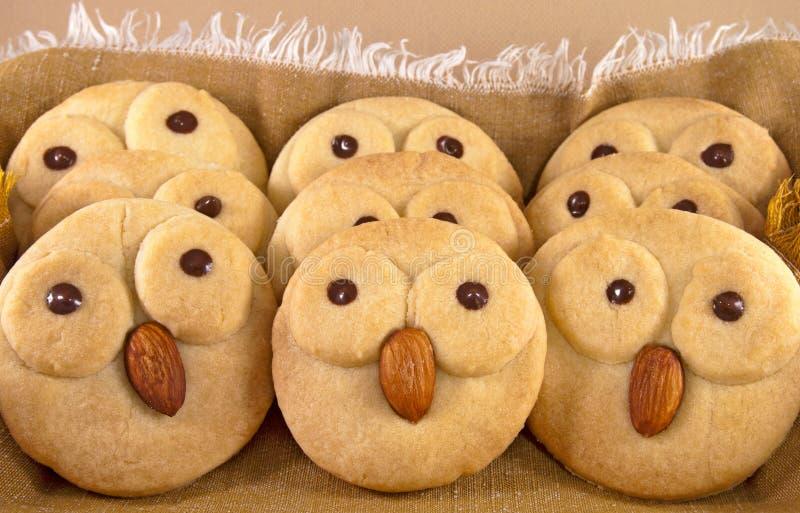 De koekjes van het vogelgezicht stock foto