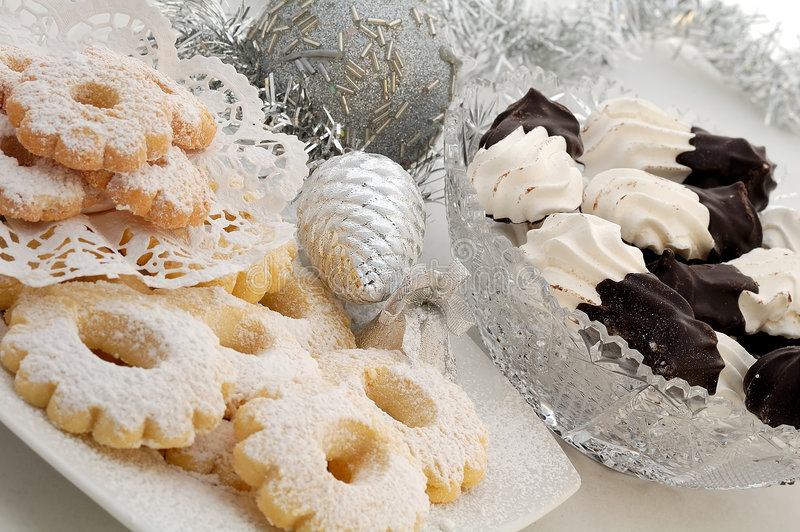 De koekjes van Kerstmis royalty-vrije stock foto