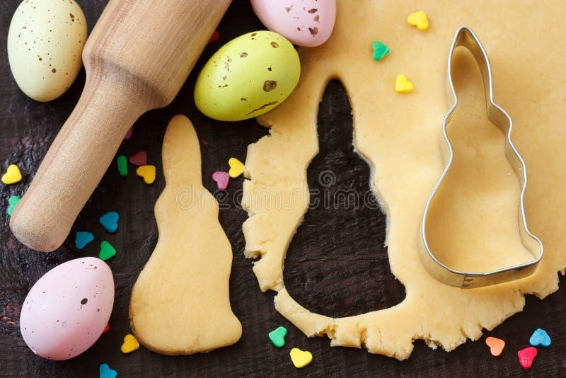 De koekjes van Pasen. stock afbeelding