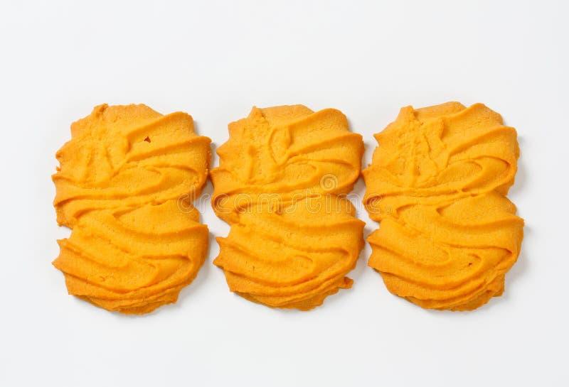 De koekjes van vanillespritz royalty-vrije stock afbeeldingen