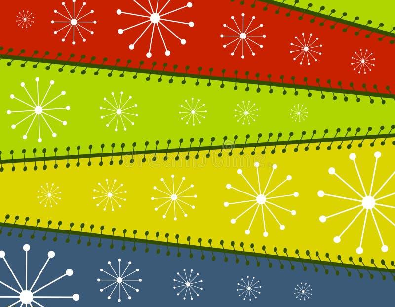 De koele Achtergrond van het Document van Kerstmis royalty-vrije illustratie