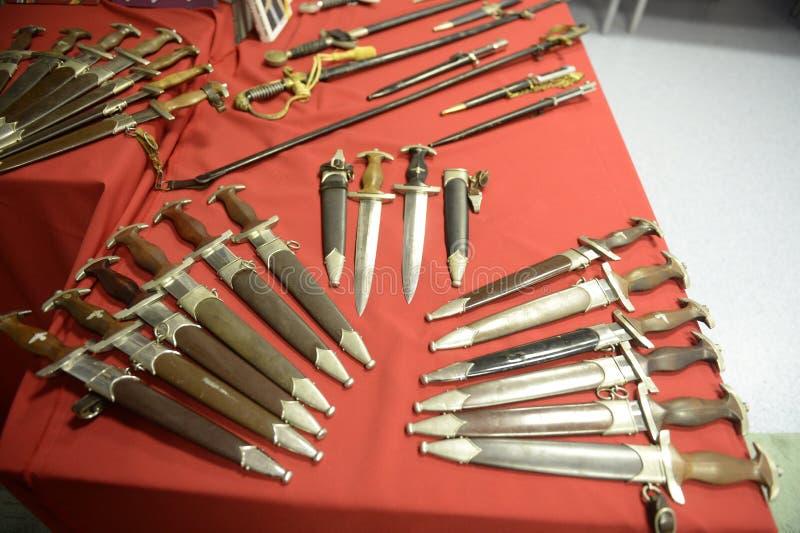 De koele Duitse Wereldoorlog II van Legerwapens royalty-vrije stock foto