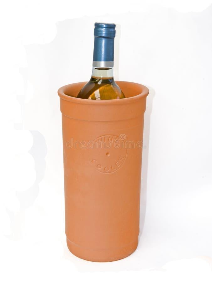 De koeler van de wijn stock foto's