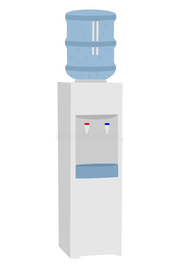 De koeler van het water royalty-vrije illustratie
