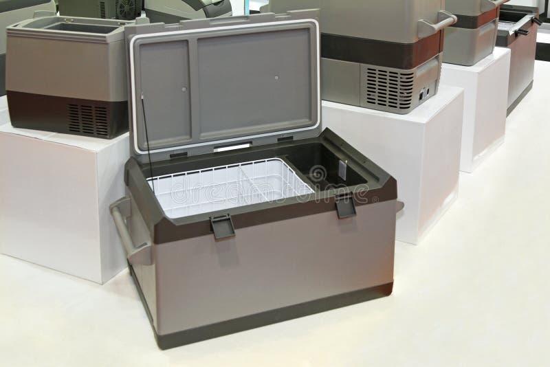 De koelkast van de vrachtwagen royalty-vrije stock foto