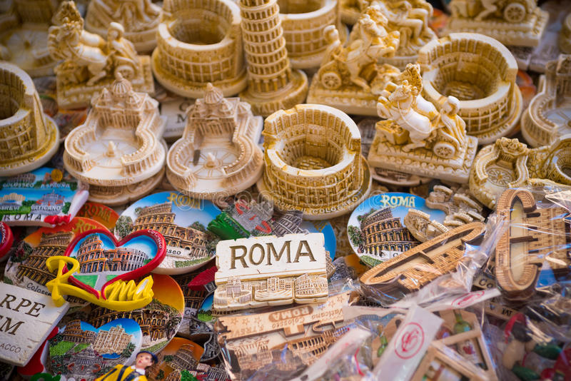 De koelkastmagneten van Rome royalty-vrije stock foto