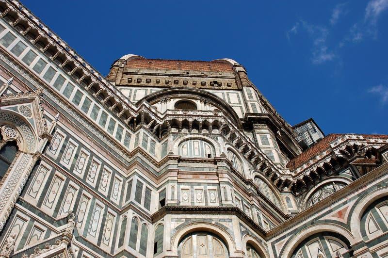 De koepel in Florence stock afbeeldingen