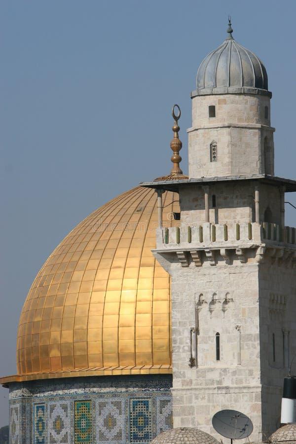 De koepel van de Rots, Tempel zet. royalty-vrije stock foto's